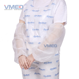 Disposable White Non-woven Sleeve Cover