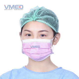 Disposable 3-ply Protective Face Wear with Earloop