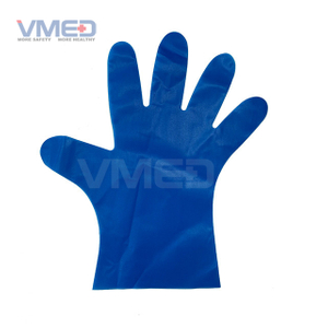Disposable Blue TPE Gloves