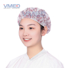 Disposable Non-woven Bouffant Cap With Vegetable Print