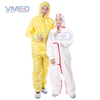 Disposable Yellow PP+PE TYPE 3/4 Coverall