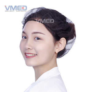 Surgical Black Nylon Hairnet