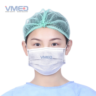 Disposable Active Carbon Fiber Protective Face Mask