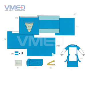 Disposable Sterile Delivery Pack with Pouch