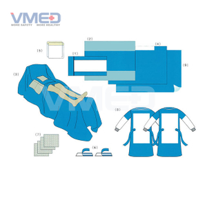 Disposable Sterile Heart Valve Surgery Pack
